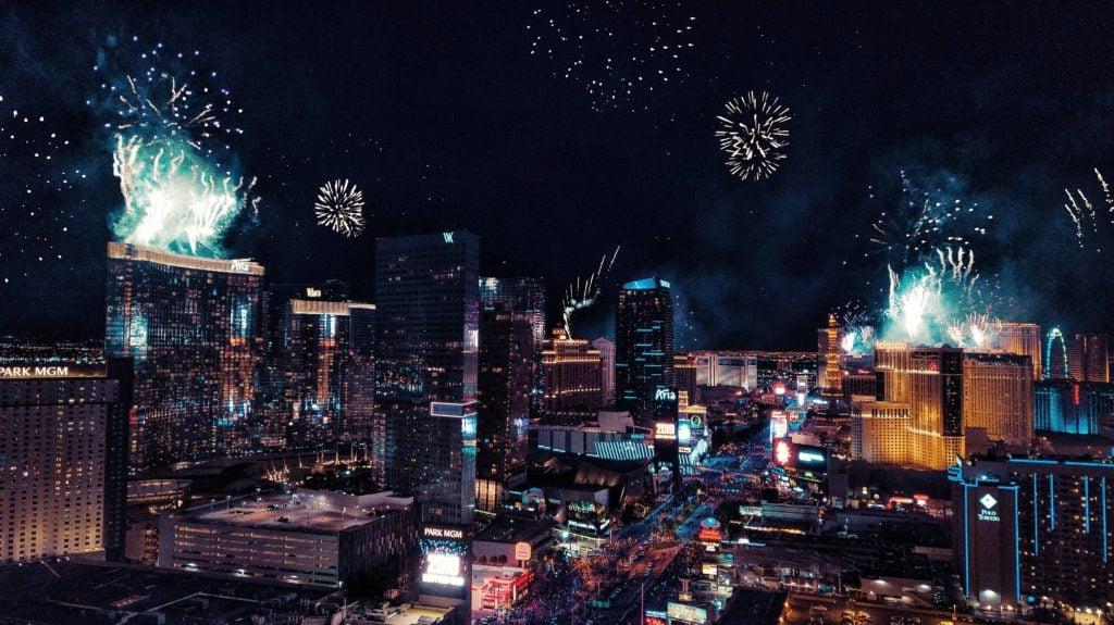 Nouvel an aux Etats-Unis