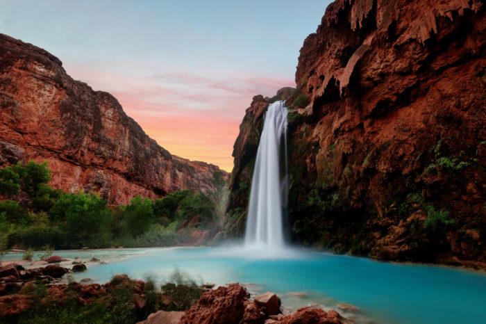 Havasu Falls en Arizona